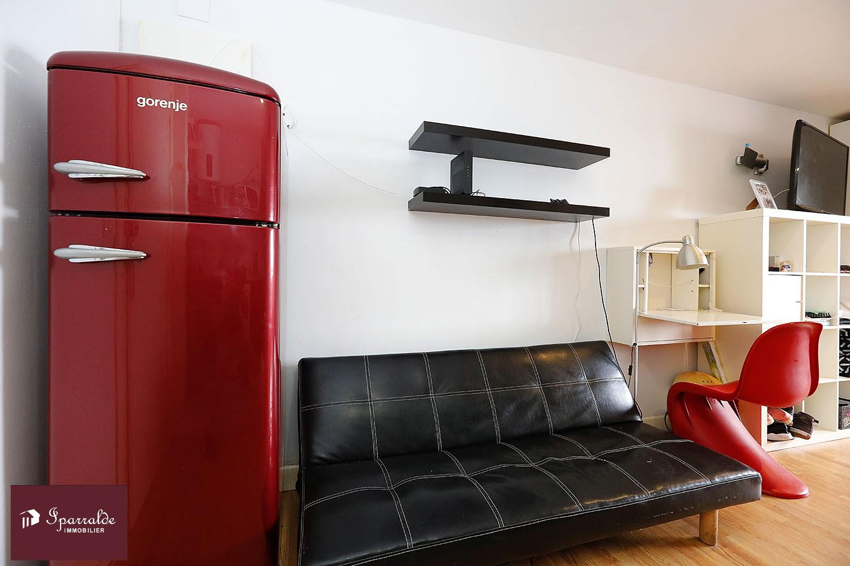 Studio vue Mer à vendre à Hendaye (64) avec IPARRALDE IMMOBILIER. Exclusivité.
