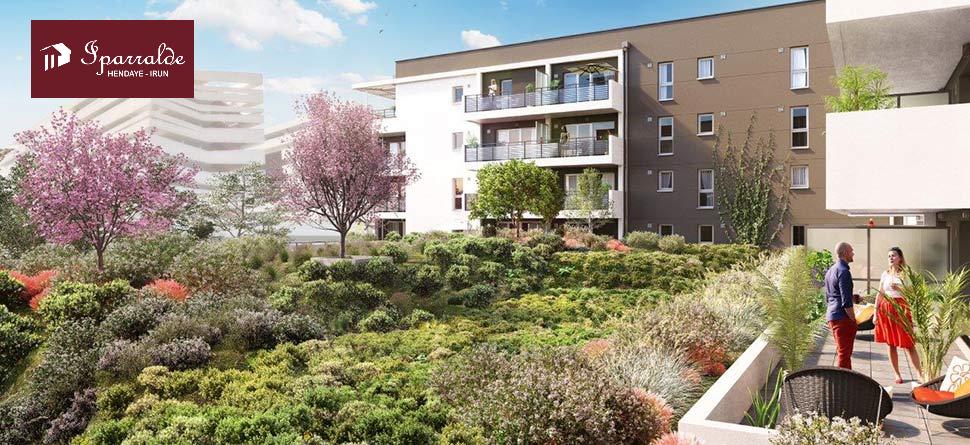 Bel appartement de 75,26m2 + magnifique Terrasse de 26,03 m2!!, + 2 parkings + Cave