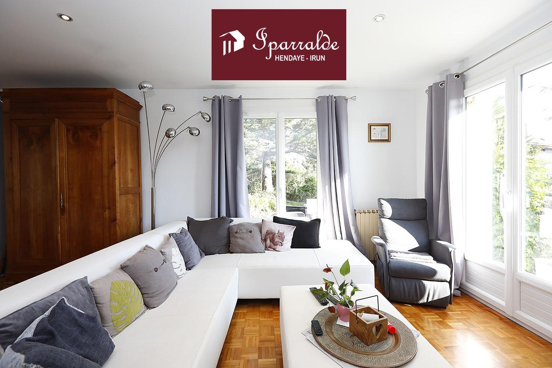 Appartement T4 à Hendaye (64) en rez-de-jardin de 104 m2 avec sous-sol aménageable