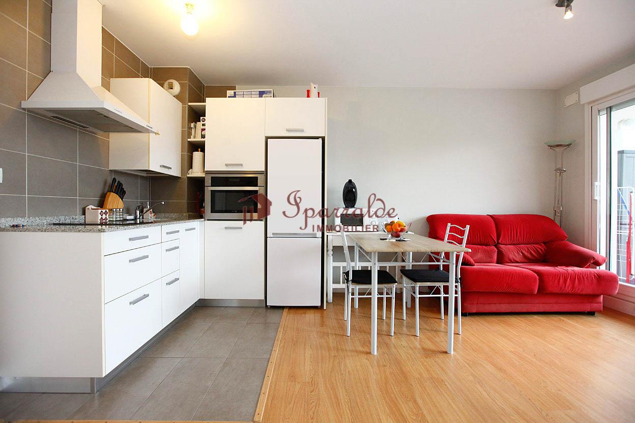 Vente d' appartement à Hendaye, situé proche commerces, T1 BIS de 3...