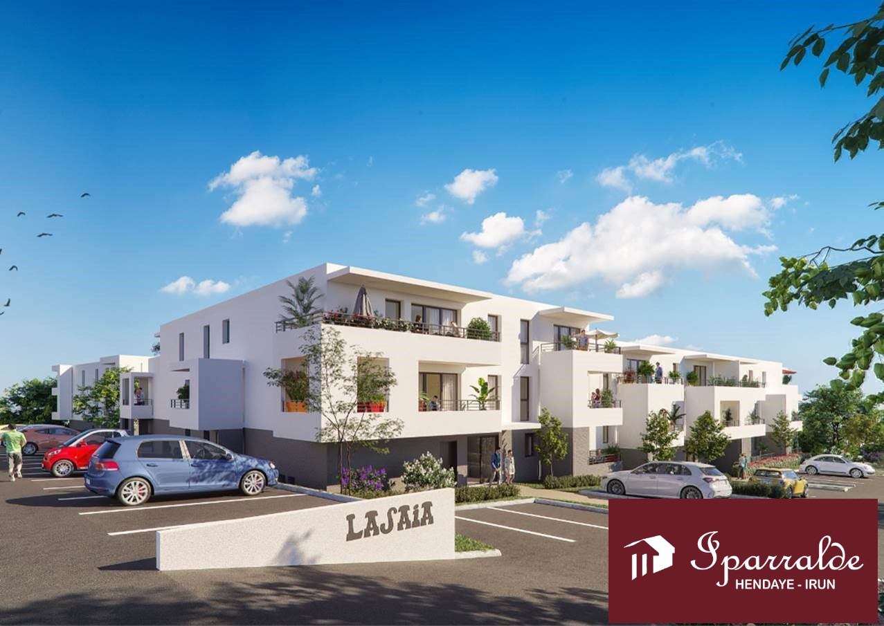 Grand T2 de 43,33m2+Terrasse+Cellier+1 parking à acheter sur Hendaye(64) en VEFA.