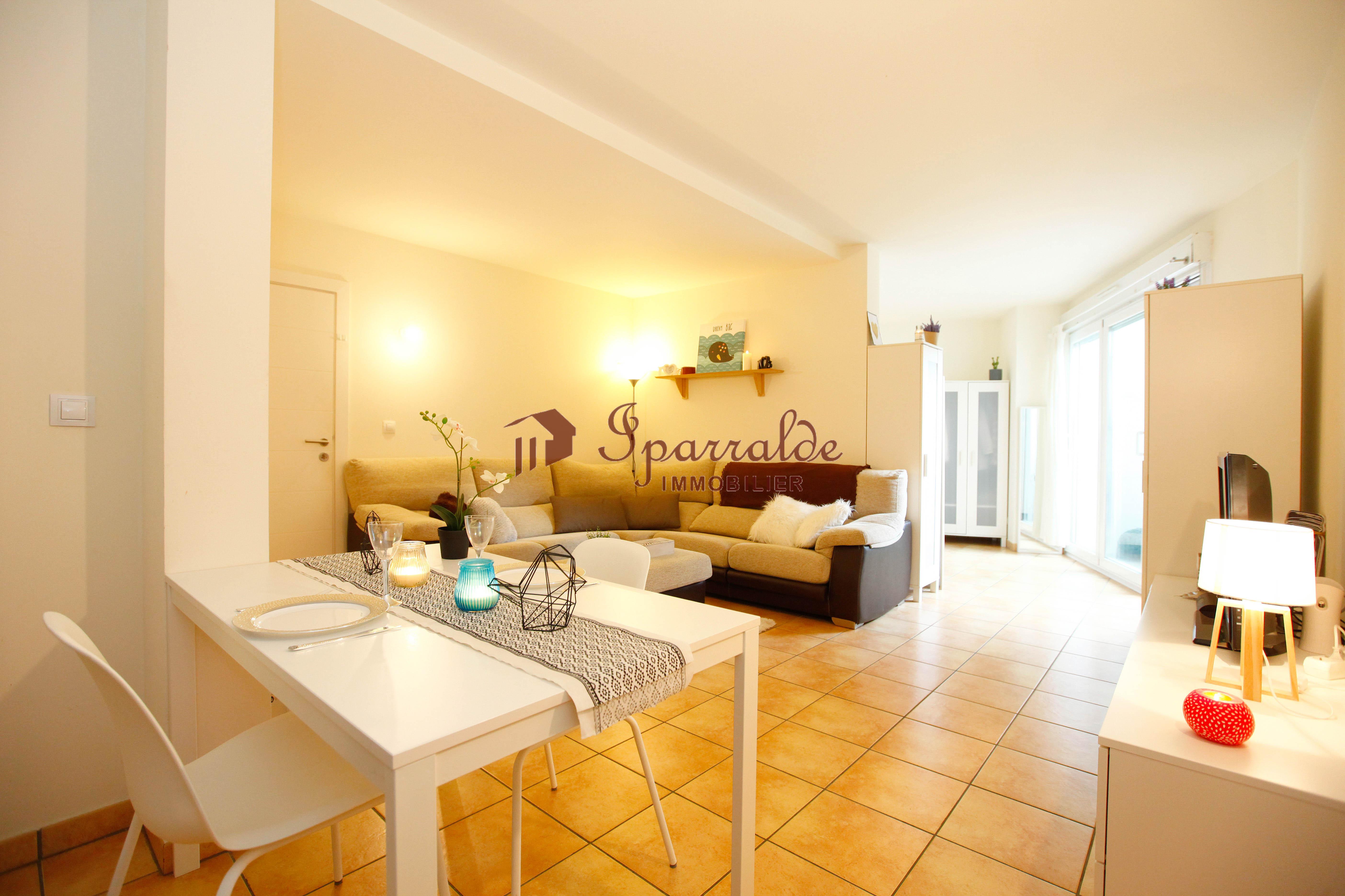 Charmant appartement situé á 100 mètres à pied de la plage d´Hendaye.